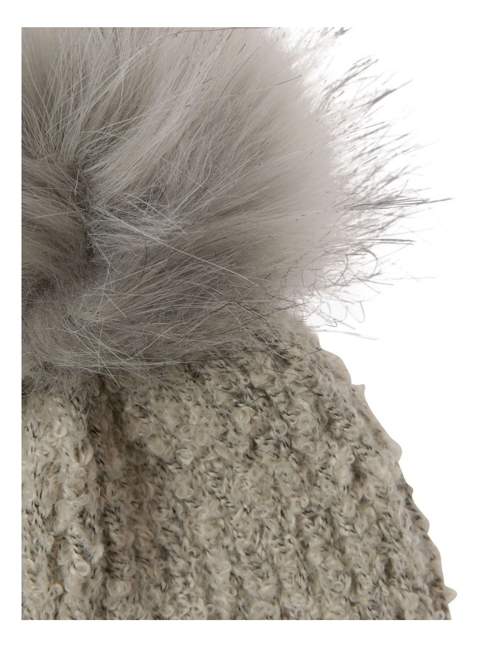 Turn Up Boucle Pom Winter Hat image 2