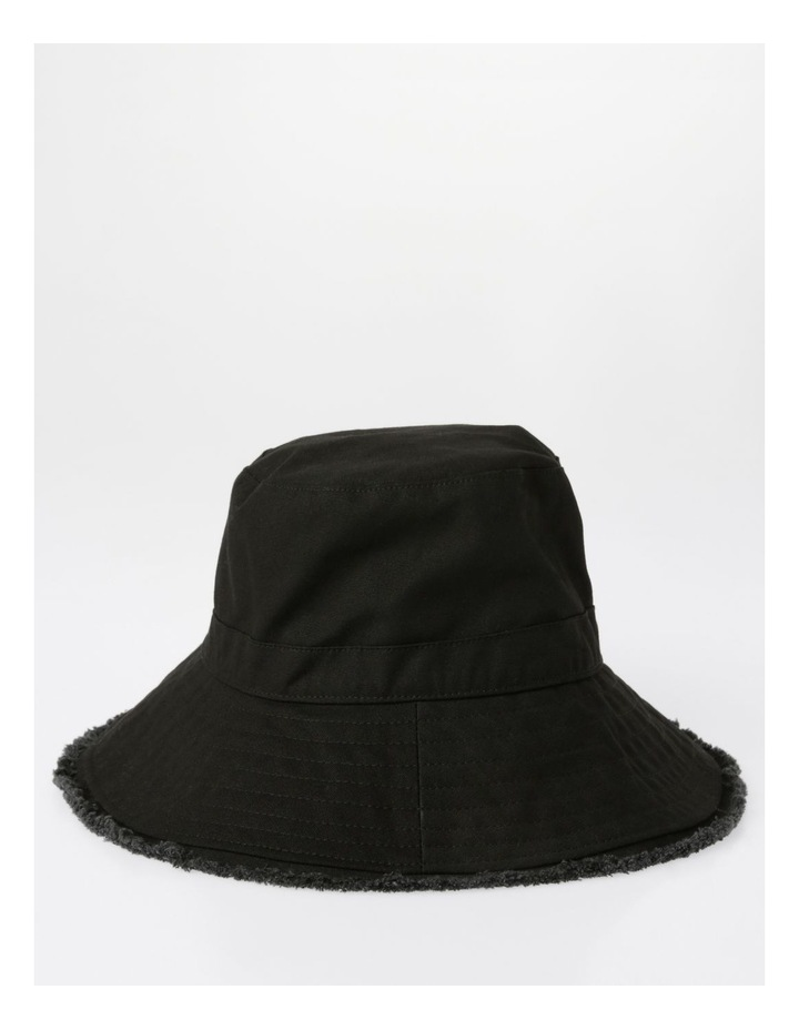 Raw Edge Bucket Hat image 2