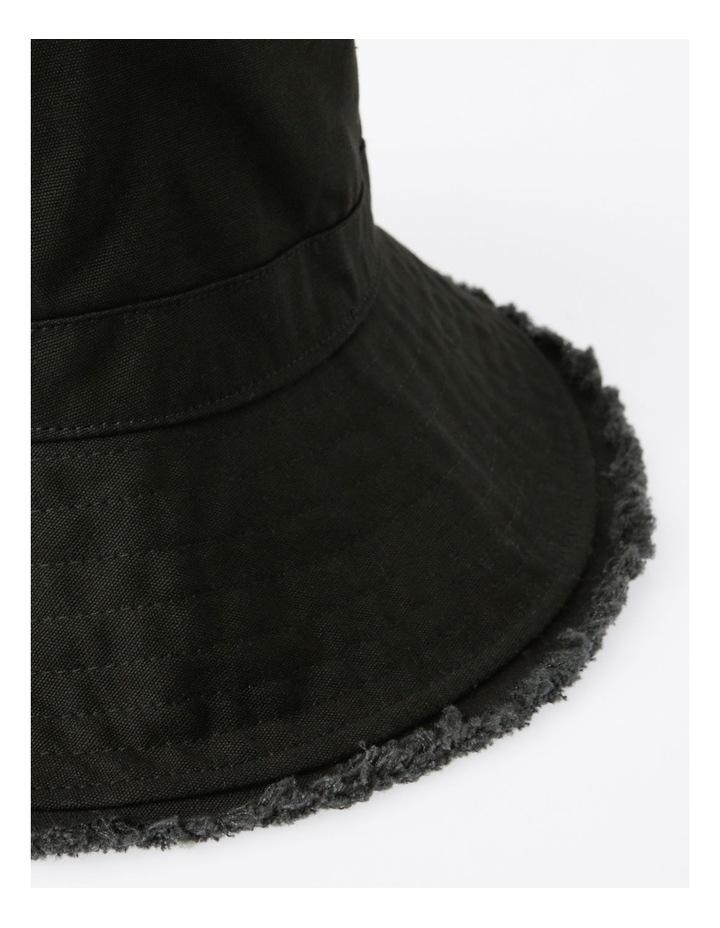 Raw Edge Bucket Hat image 3
