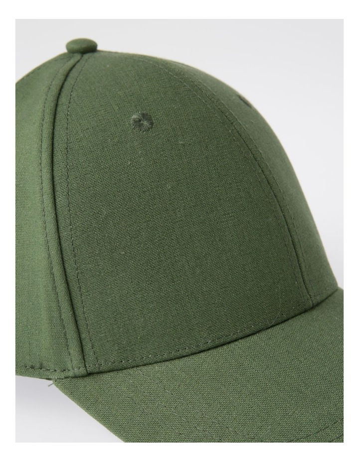 Linen Core Baseball Cap Summer Hats image 4