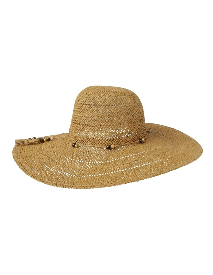 Beaded Trim Floppy Hat Summer Hats image 2