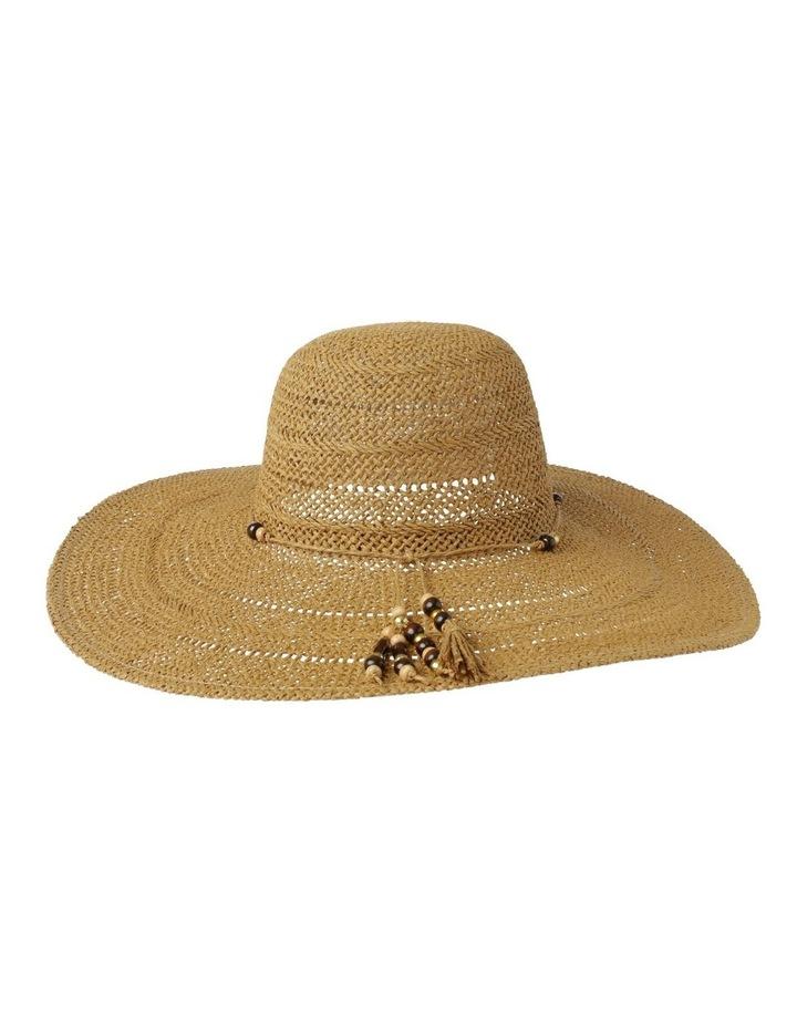Beaded Trim Floppy Hat Summer Hats image 3
