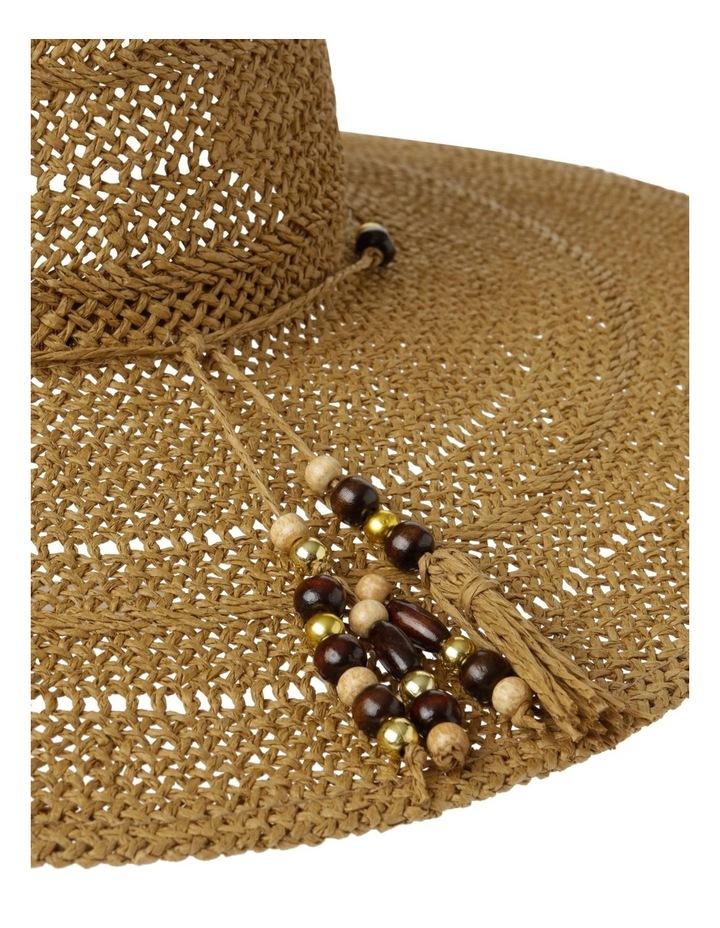 Beaded Trim Floppy Hat Summer Hats image 4