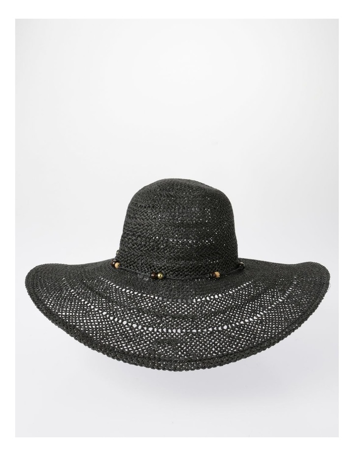 Beaded Trim Floppy Hat Summer Hats image 1