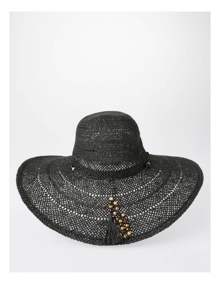 Beaded Trim Floppy Hat Summer Hats image 2