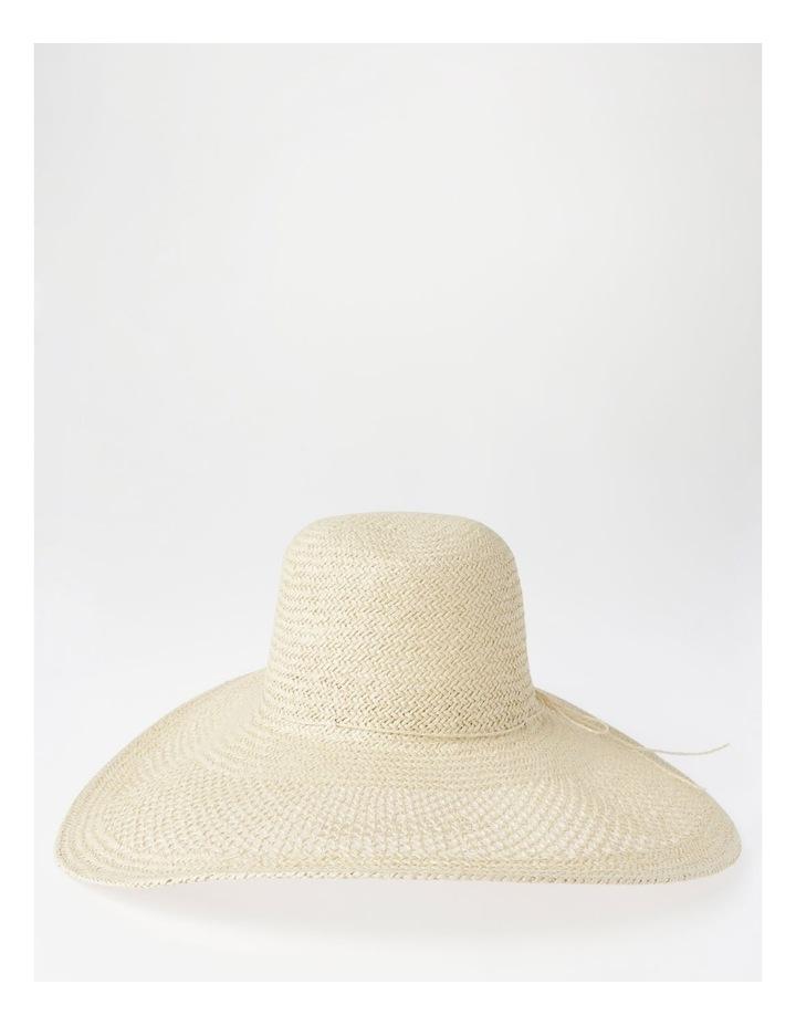 DL25748 Wide Brim Open Weave Summer Hats image 1