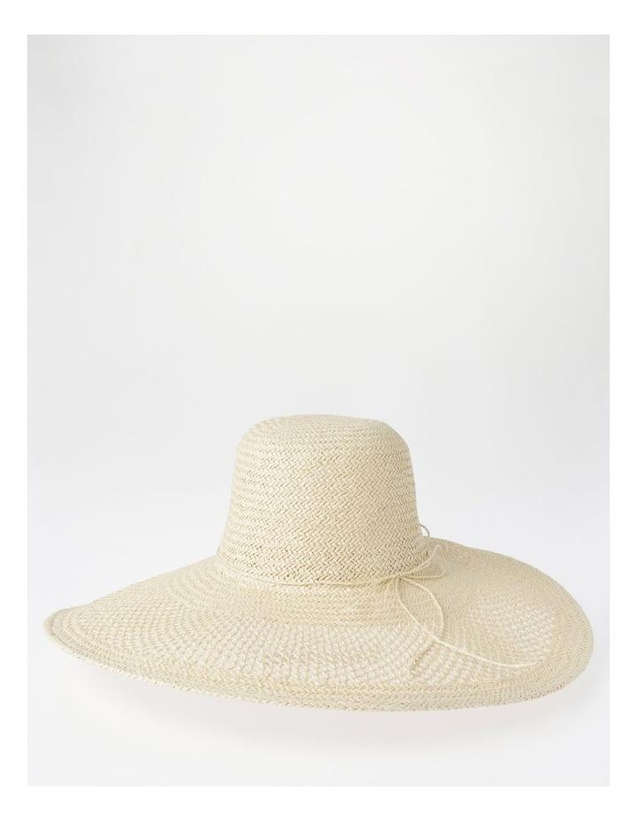 DL25748 Wide Brim Open Weave Summer Hats image 2