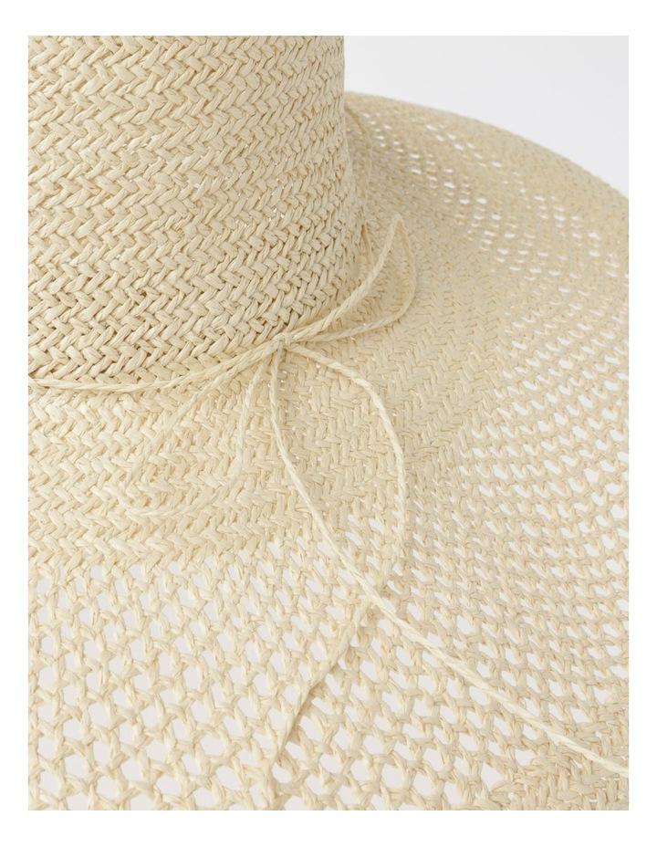 DL25748 Wide Brim Open Weave Summer Hats image 4