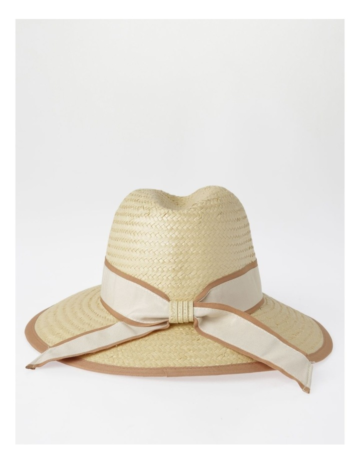 Two Tone Trim Fedora Summer Hats image 3