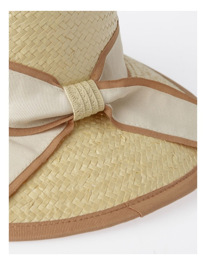 Two Tone Trim Fedora Summer Hats image 4