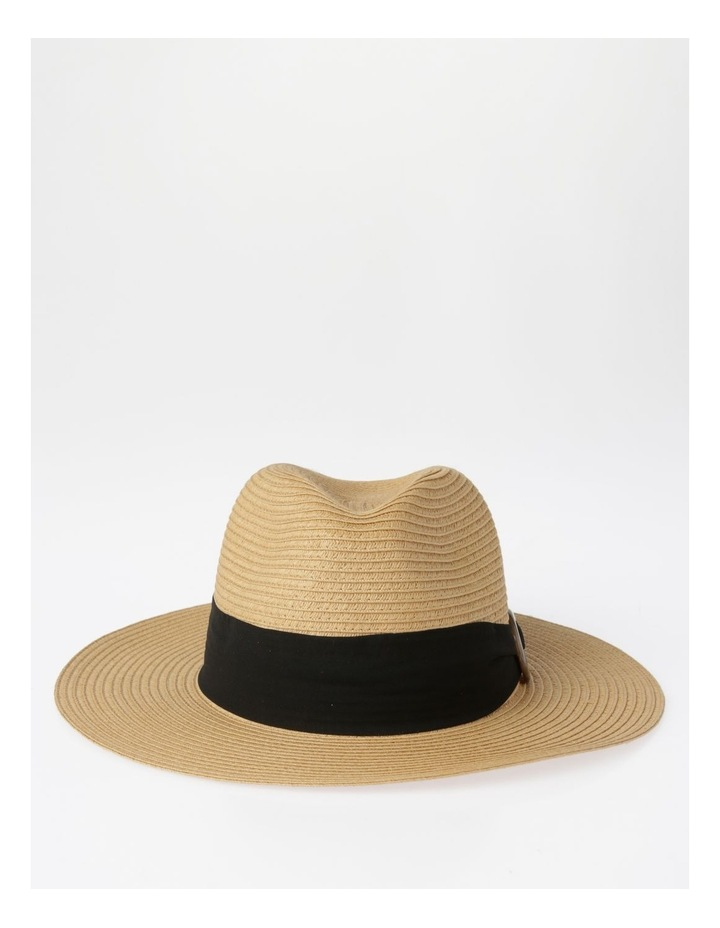 Tortoise Feature Natural Fedora Summer Hats image 1