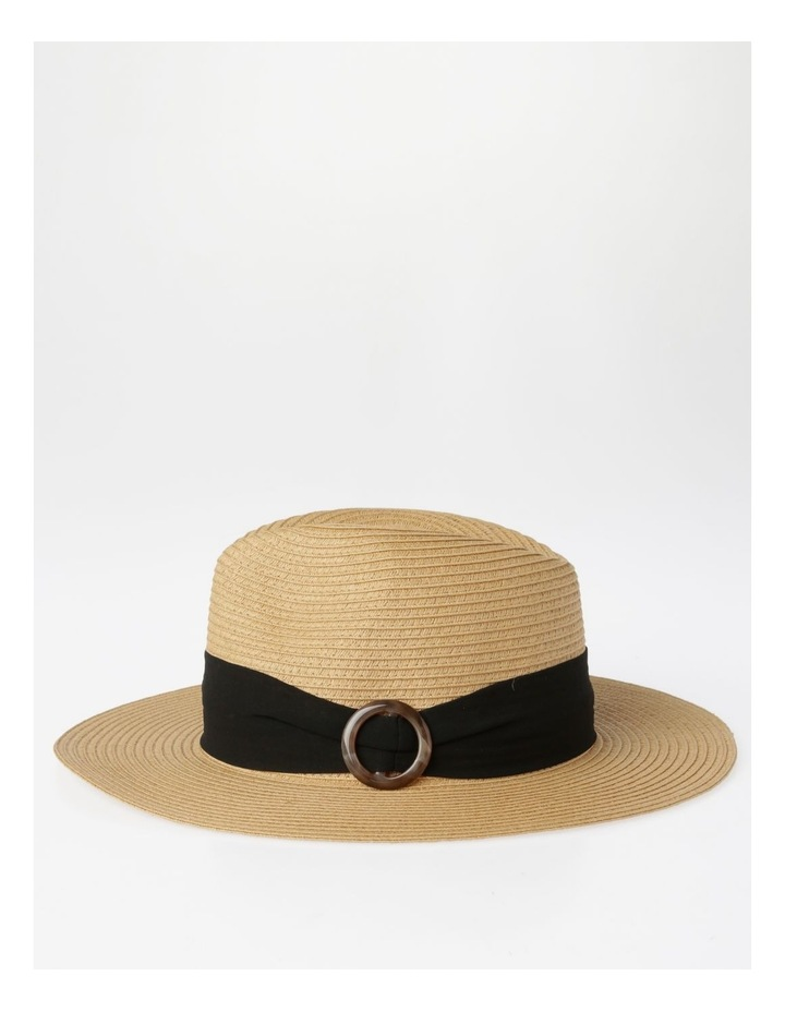 Tortoise Feature Natural Fedora Summer Hats image 2