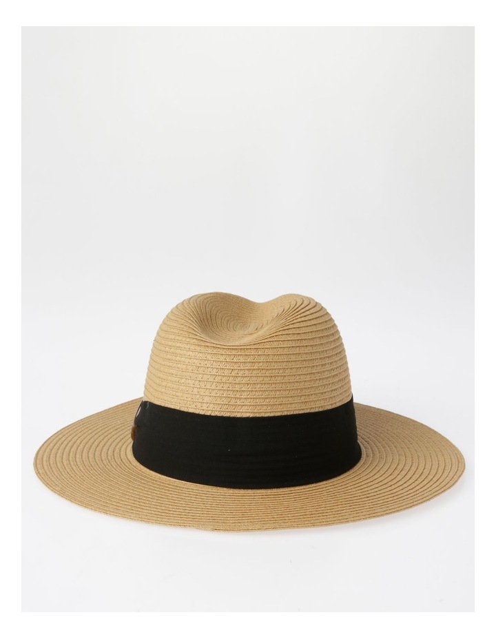 Tortoise Feature Natural Fedora Summer Hats image 3