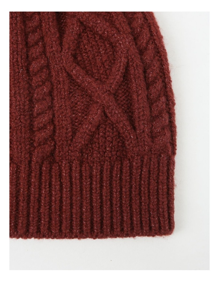 Cable-Knit Beanie image 2