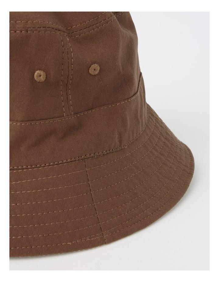 Reversible Chocolate/ Checkered Bucket Hat image 4