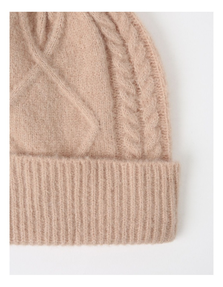 Cable Knit Beanie Winter Hats image 2