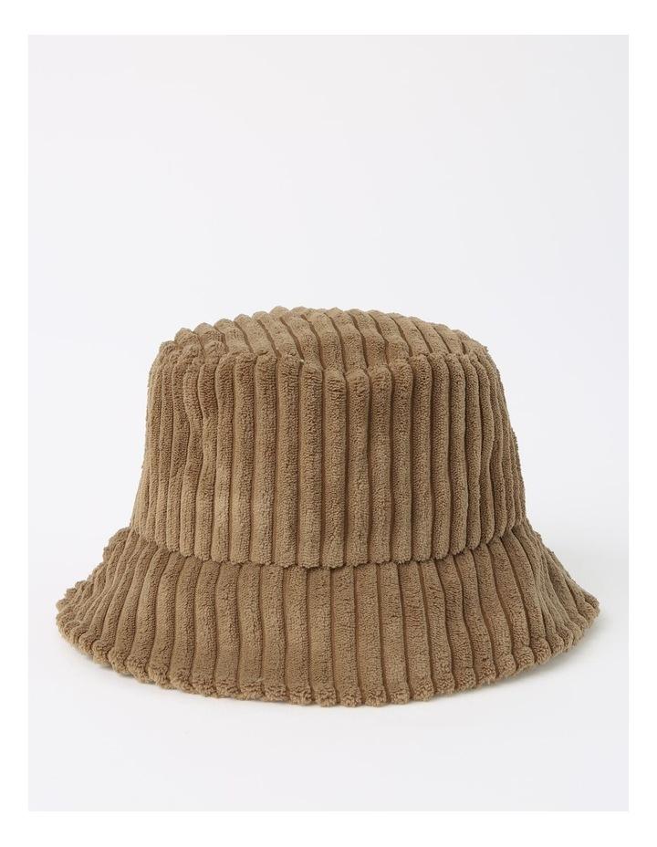 Oversize Corduroy Bucket Winter Hats image 1
