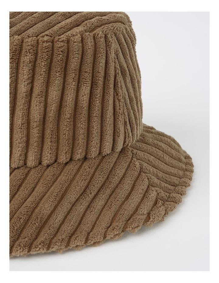 Oversize Corduroy Bucket Winter Hats image 2
