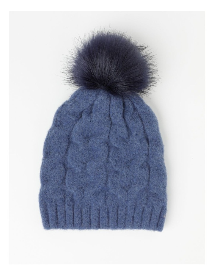 Pom Pom Cable Beanie Winter Hats image 1