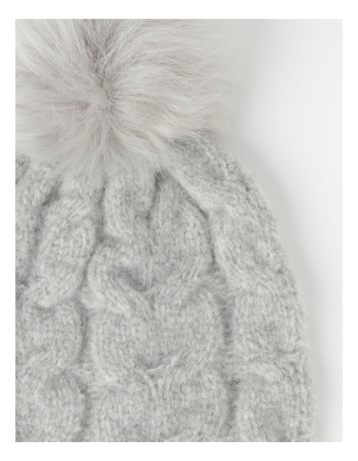 Pom Pom Cable Beanie Winter Hats image 2