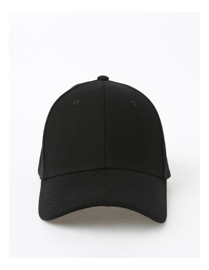 Classic Winter Black Baseball Cap image 1