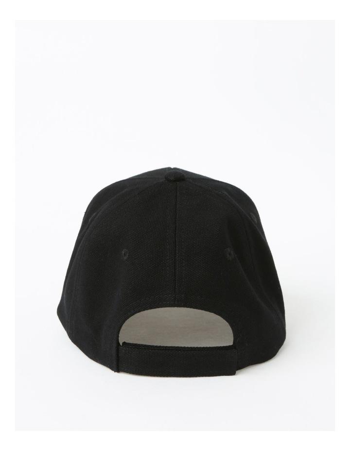 Classic Winter Black Baseball Cap image 3