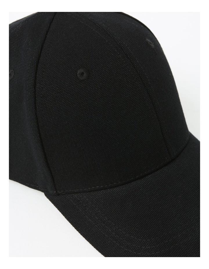 Classic Winter Black Baseball Cap image 4