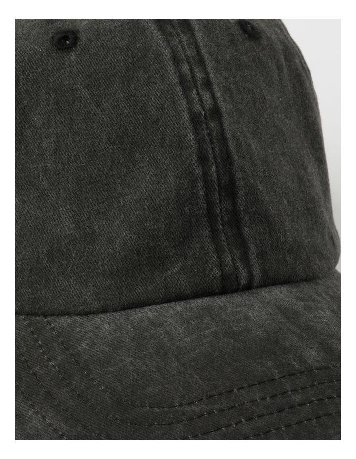 Washed Dad Black Cap image 4