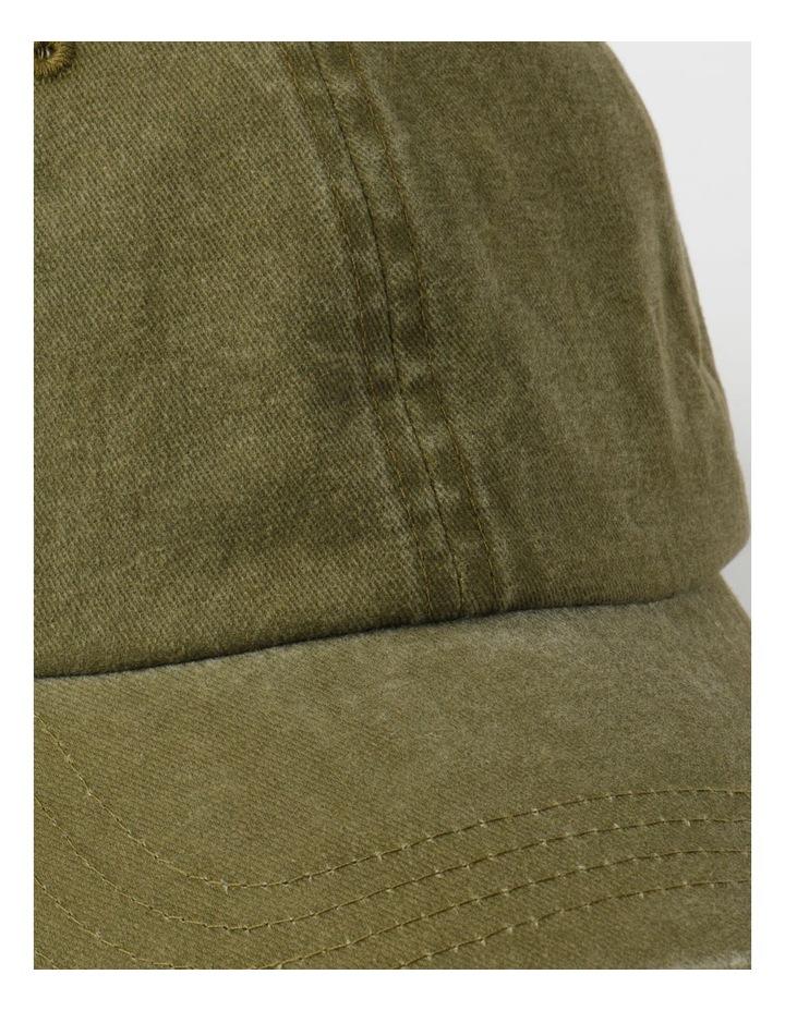 Washed Dad Khaki Cap image 4