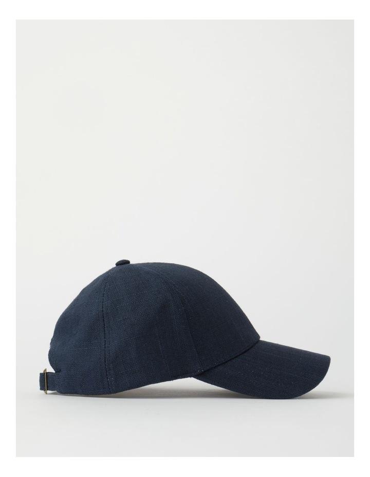 Cotton Blend Navy Cap image 2