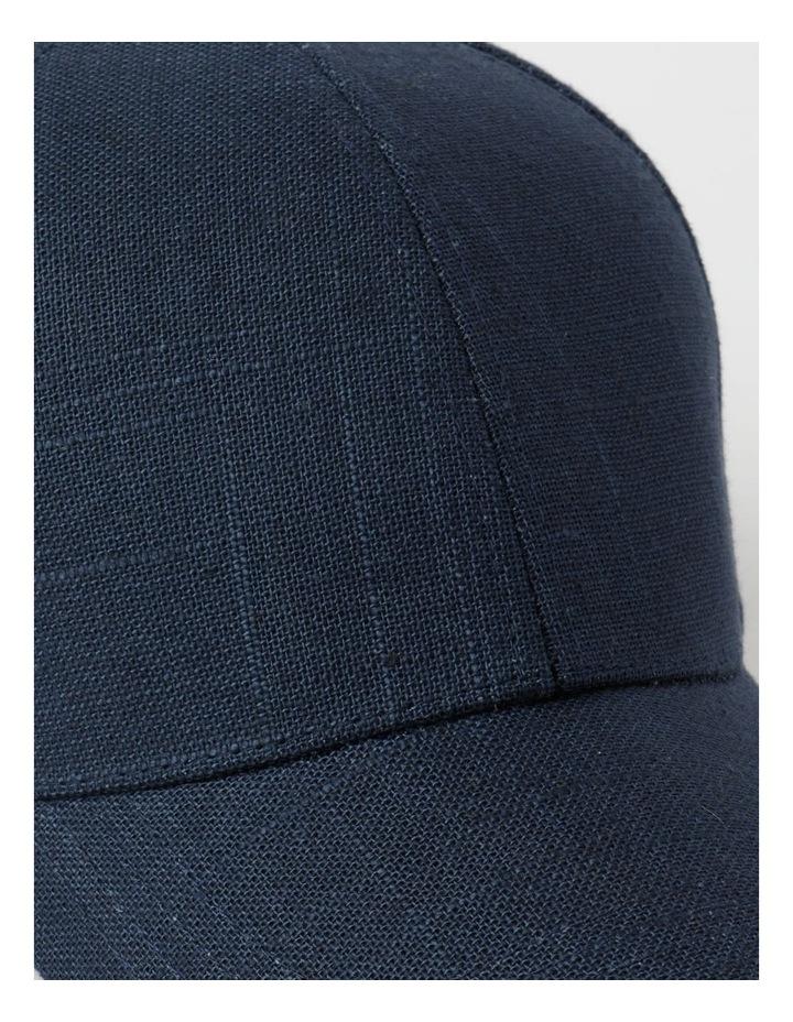 Cotton Blend Navy Cap image 4