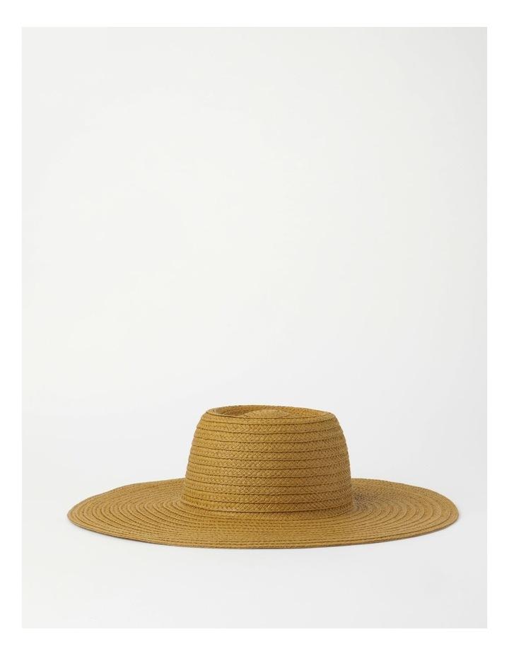 Wide Brim Tobacco Summer Hat image 1