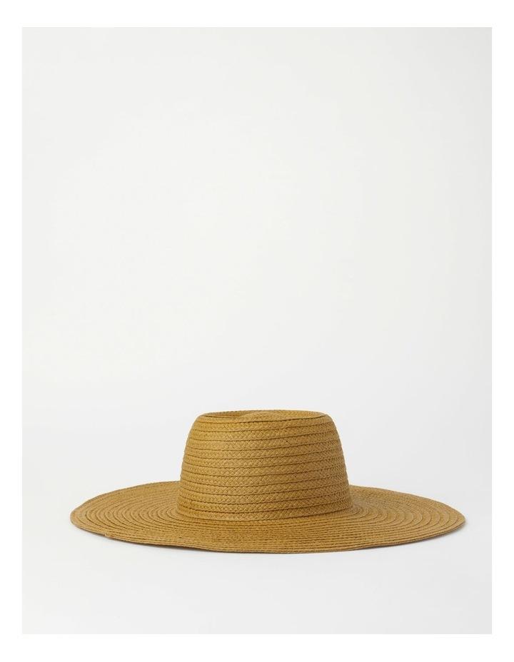 Wide Brim Tobacco Summer Hat image 2