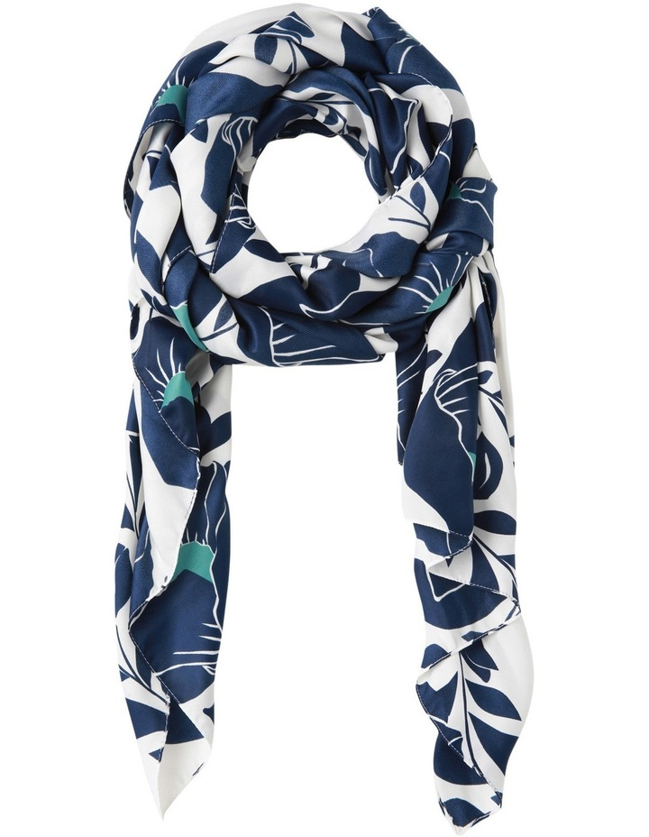 Large Scale Floral Scarf image 1