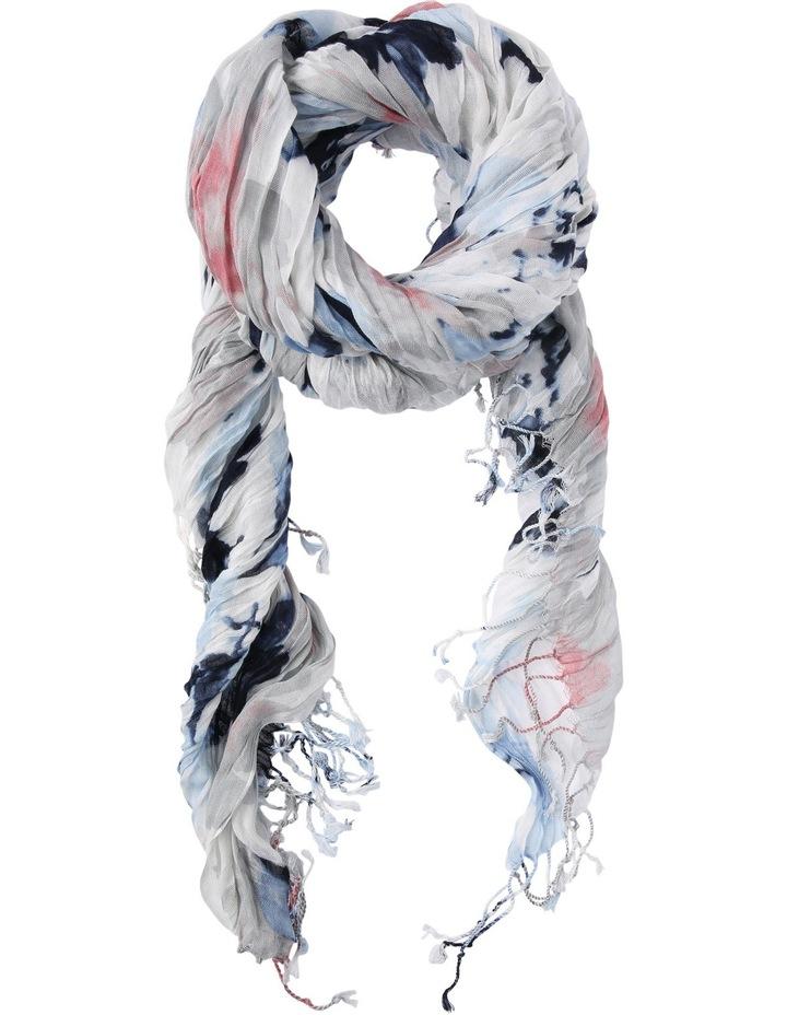 Crinkle Scarf -Print image 1