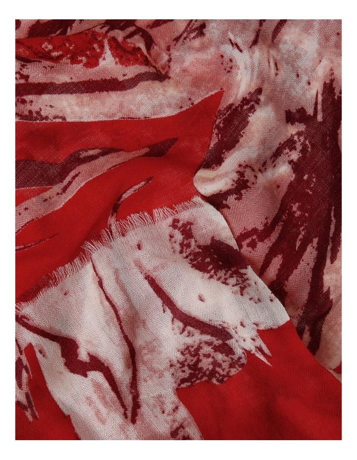 Printed Wool Scarf image 2