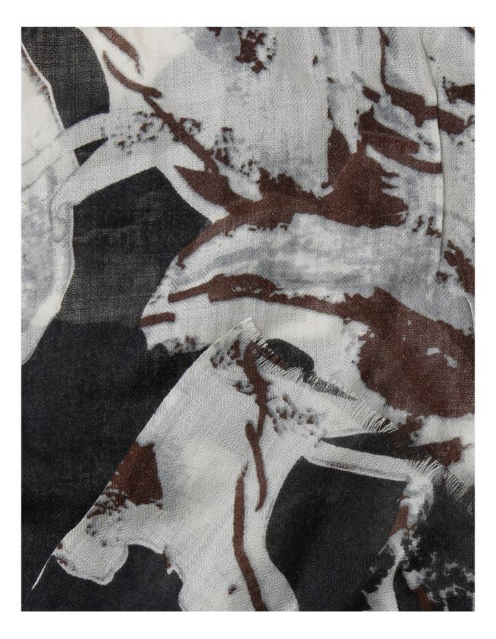 Printed Wool Scarf AMB4816 image 2