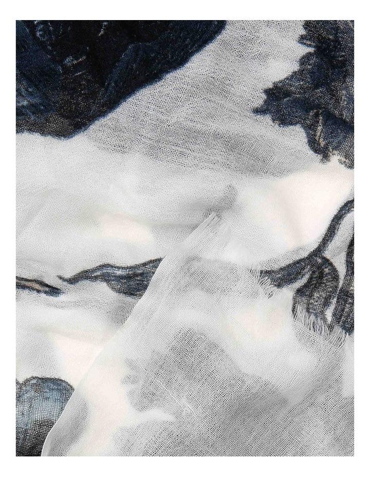 Printed Wool Scarf 5906162 image 2