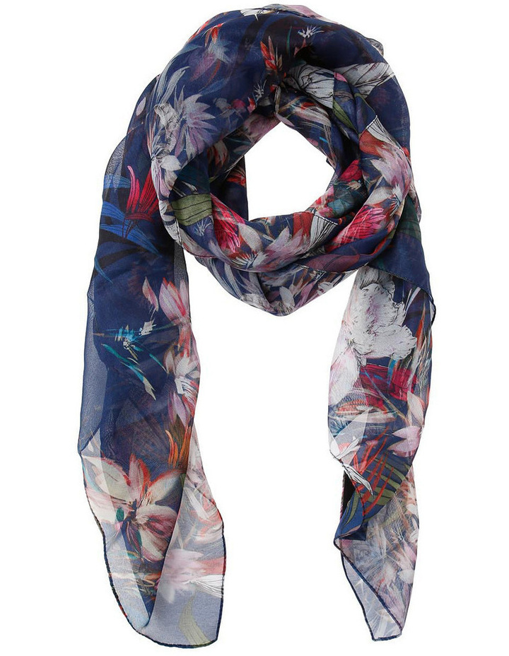 Navy Floral 5068/X1598 image 1