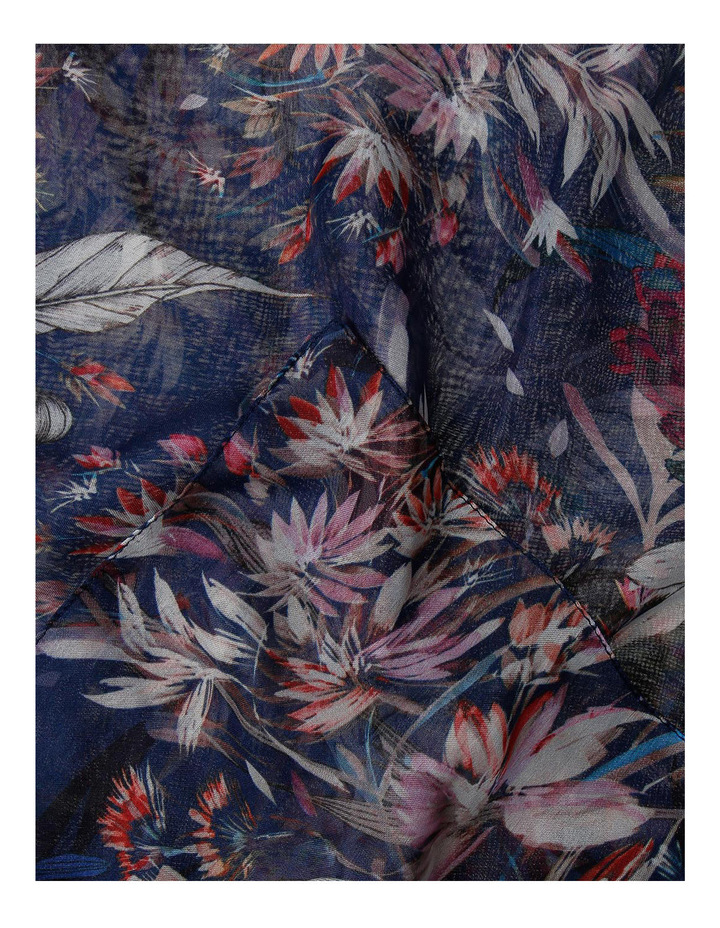 Navy Floral 5068/X1598 image 2