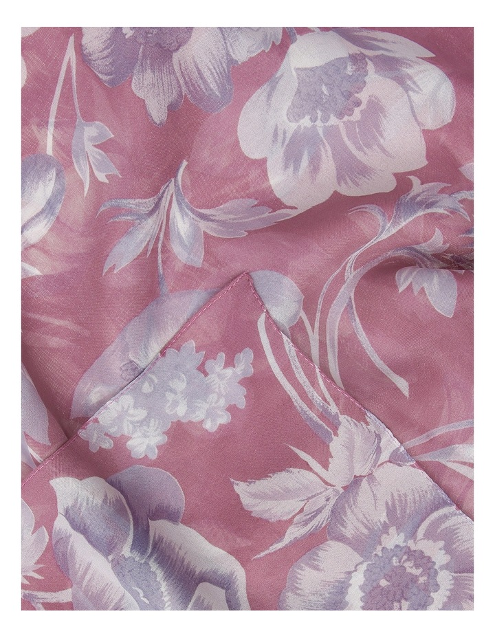 2871/4092 Floral Chiffon Scarf image 2