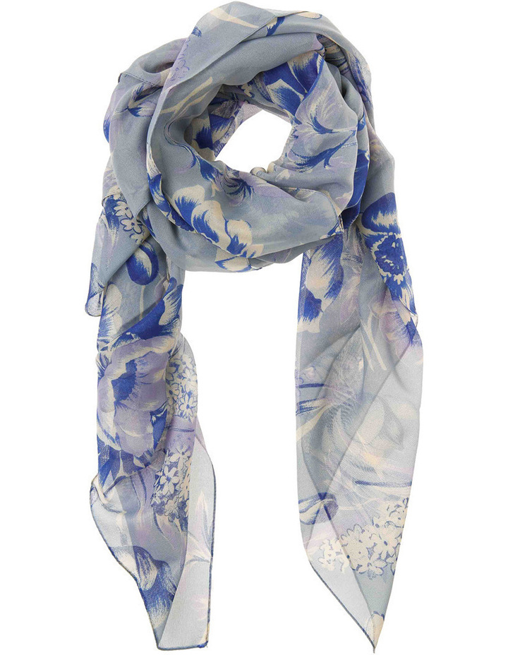 Floral Chiffon Scarf 2871/4092 image 1