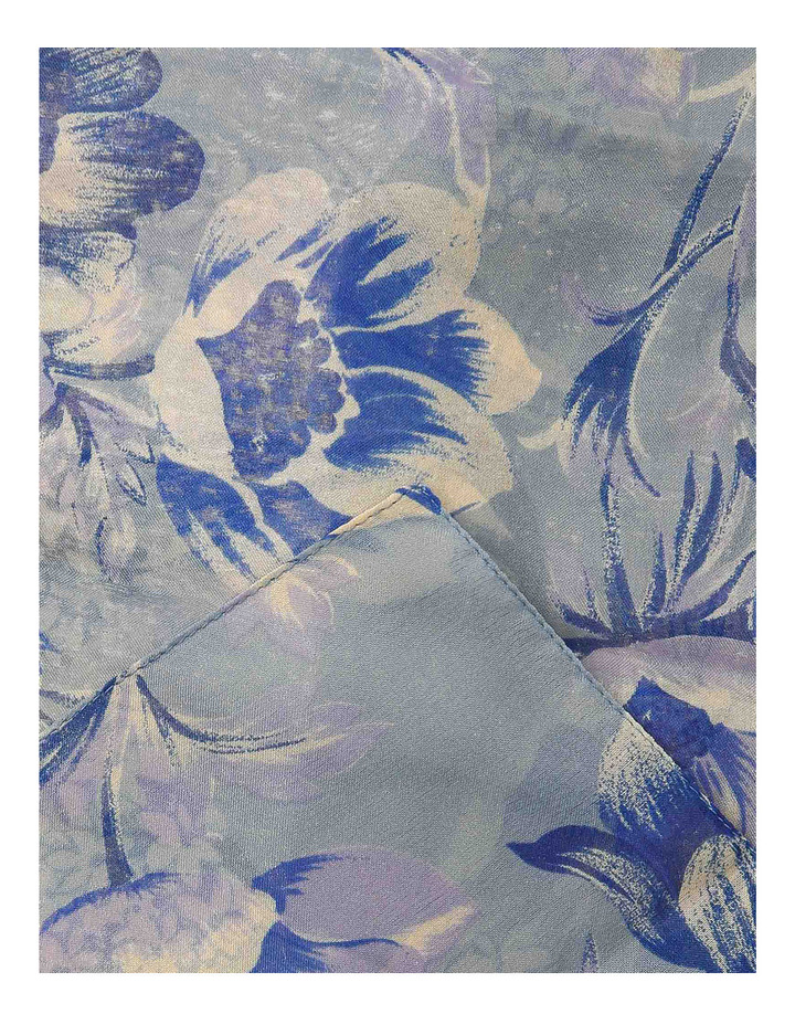 Floral Chiffon Scarf 2871/4092 image 2