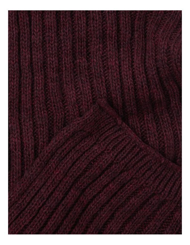 Basic Ribbed Scarf 2612 image 2