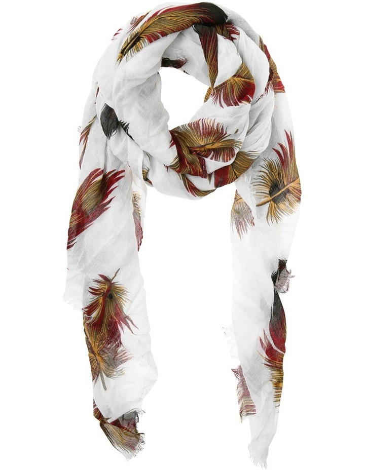 Feather Print Scarf PIPS0329 image 1