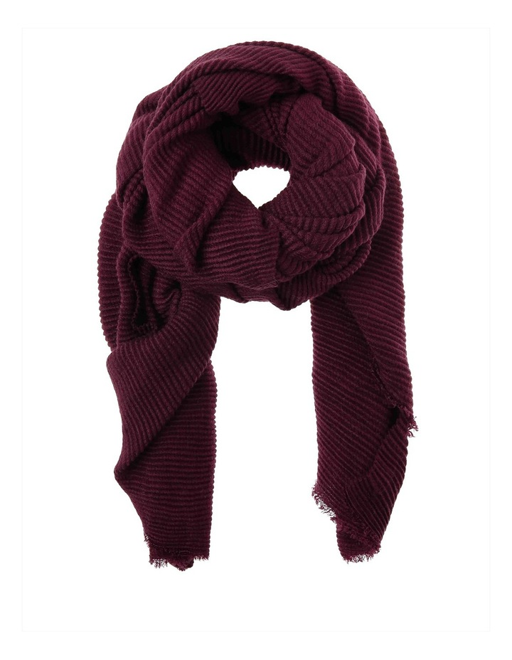 Pleated Winter Scarf PIPS0275 image 1