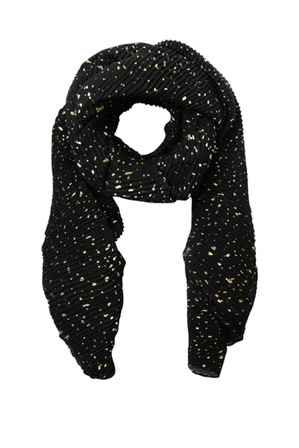 Piper - PIPS0288 Pleated Foil Print Scarf