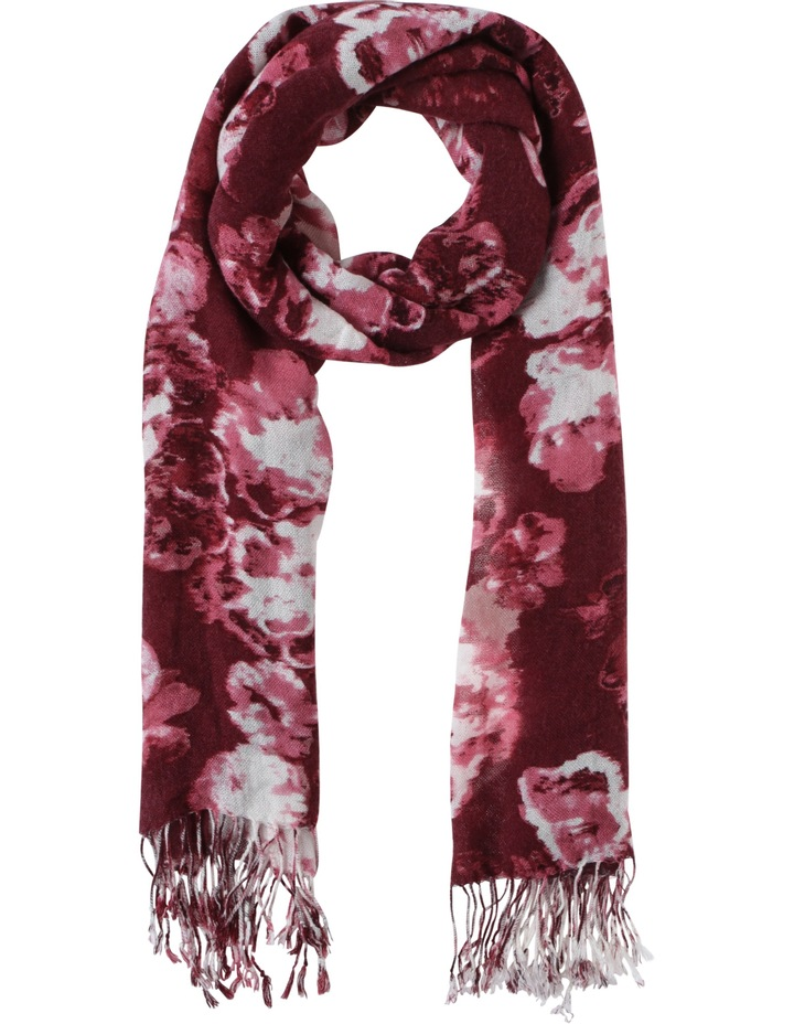 Cloudy Floral Scarf image 1