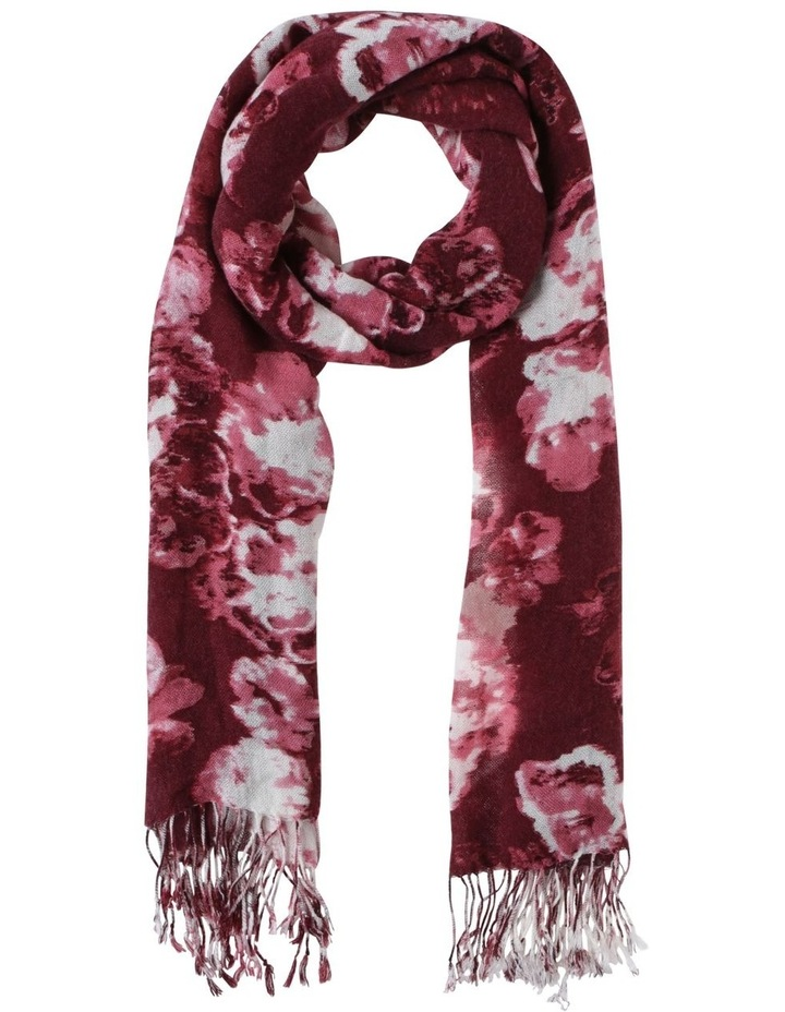Cloudy Floral Scarf image 2