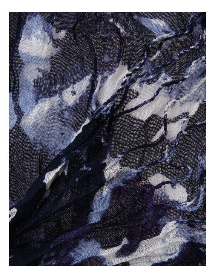 Crinkle Print Scarf image 2